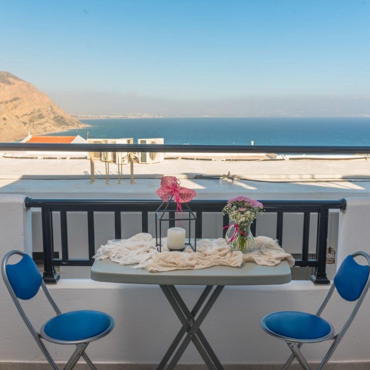 Hotel ANTIGONI - double room with sea view