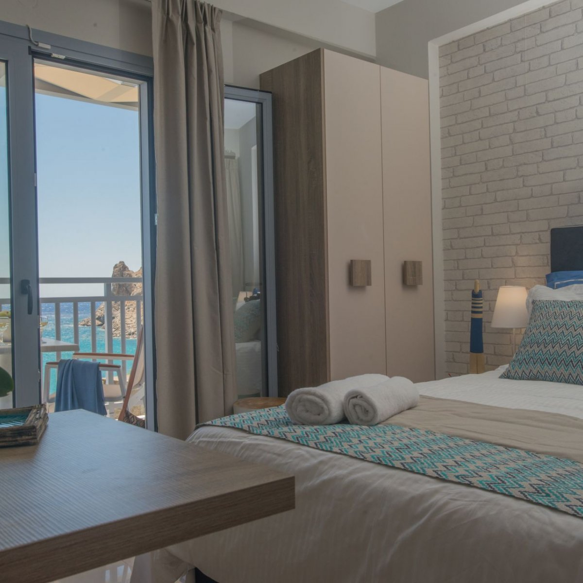 Athina Residence - 2 person studio with sea view