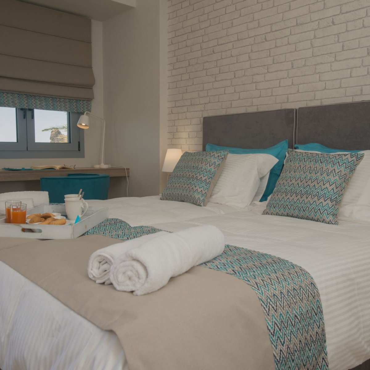 Athina Residence - 3 person studio with sea view